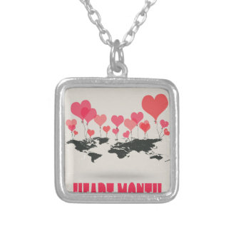 February is Heart Month - Appreciation Day Silver Plated Necklace