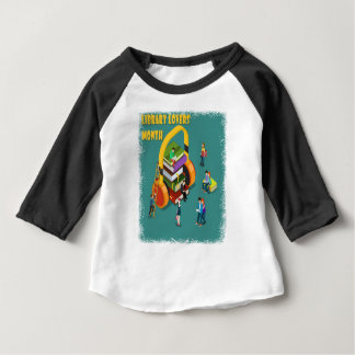 February is Library Lovers' Month Appreciation Day Baby T-Shirt
