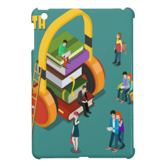February is Library Lovers' Month Appreciation Day iPad Mini Cover