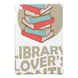 February - Library Lovers' Month Cover For The iPad Mini