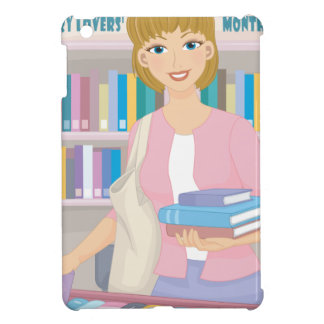 February - Library Lovers' Month iPad Mini Cover