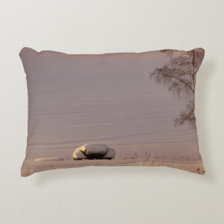 February Morning #1 Accent Pillow