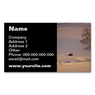 February Morning #1 Business Card Magnet