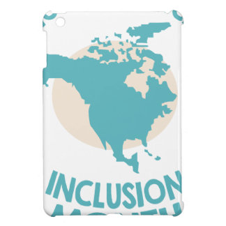 February - North American Inclusion Month iPad Mini Cover