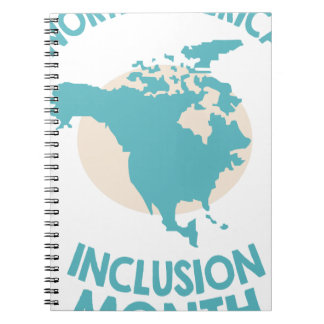 February - North American Inclusion Month Notebook