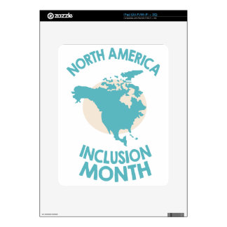 February - North American Inclusion Month Skins For The iPad