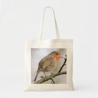 February Robin Tote Bag