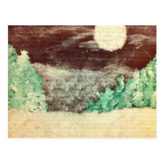 February--Snow Moon.jpg Postcard