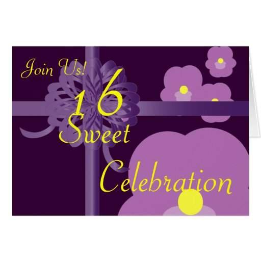 February Sweet Sixteen Invitation-Customize Cards