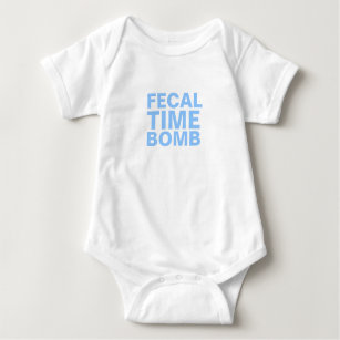 Fecal Time Bomb Infant Bodysuit