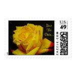 Fecha de SaveThe - franqueo del boda del rosa amar