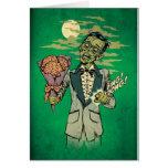 fecha del baile de fin de curso del zombi con los  tarjeta