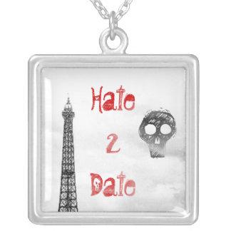 Fecha del odio 2, París Colgante Cuadrado