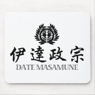 Fecha Masamune del SAMURAI Tapete De Raton