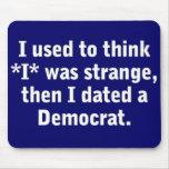 Fechar a un Demócrata Alfombrillas De Ratones