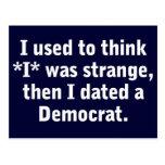 Fechar a un Demócrata Postales