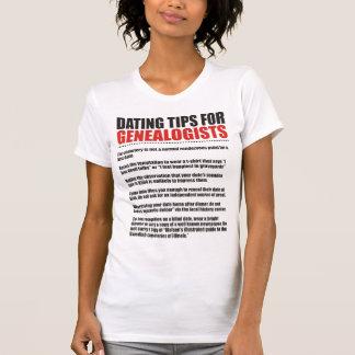 Fechar las extremidades para los Genealogists Camisetas