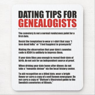 Fechar las extremidades para los Genealogists Alfombrillas De Raton