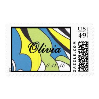 feche a Olivia intrépido conocido, sh intrépido de Sellos Postales