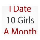 Fecho a 10 chicas al mes comunicado personalizado