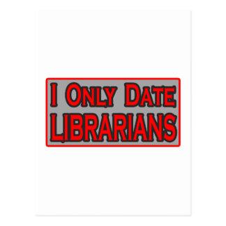 Fecho solamente a bibliotecarios postales
