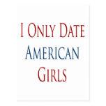Fecho solamente a chicas americanos postales