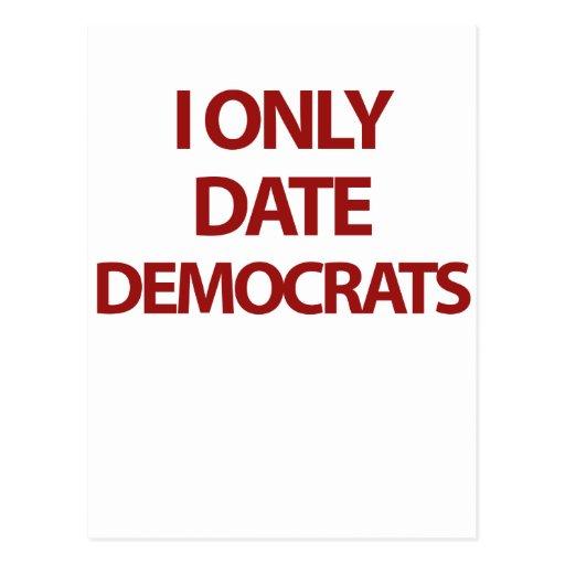 Fecho solamente a Demócratas Postal
