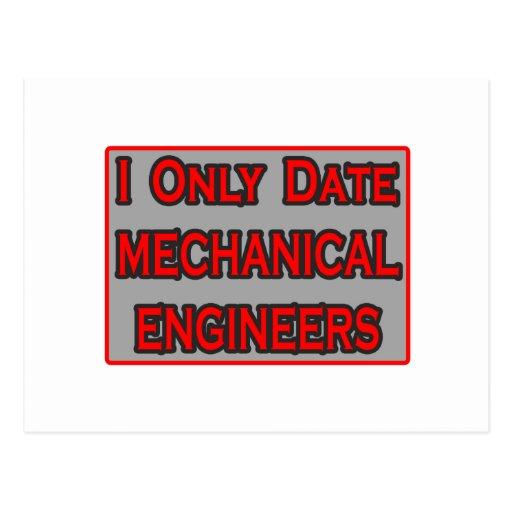 Fecho solamente a ingenieros industriales tarjetas postales