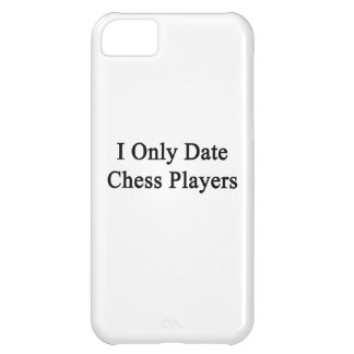 Fecho solamente a jugadores de ajedrez funda para iPhone 5C
