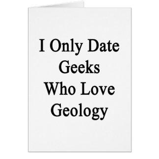 Fecho solamente a los frikis que aman la geología felicitación