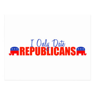 Fecho solamente a republicanos postales