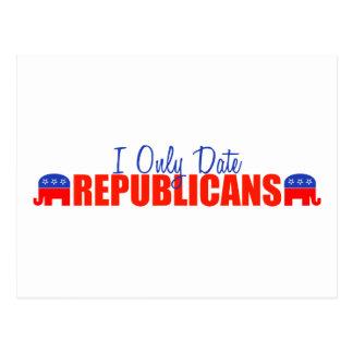 Fecho solamente a republicanos postal
