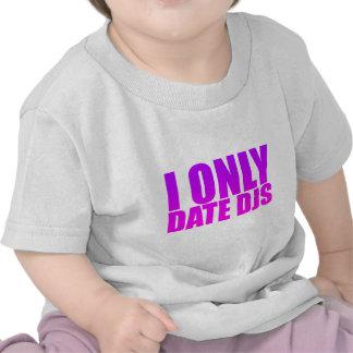 Fecho solamente DJs - discs jockeyes datación de Camiseta