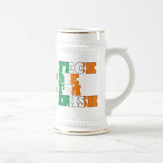 Feck Me I'm Irish Beer Stein