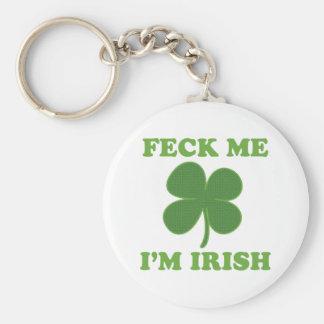 Feck Me Im Irish Keychain