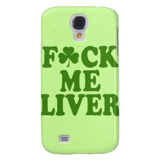 Feck Me Liver Funny Irish Galaxy S4 Covers