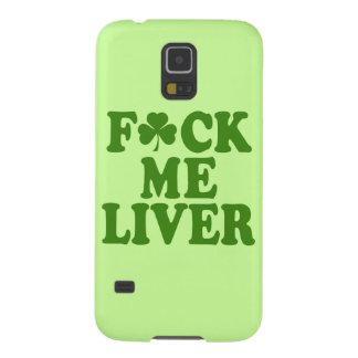 Feck Me Liver Funny Irish Galaxy S5 Cover