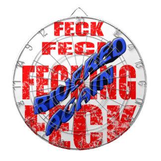 feck rivered again dartboards