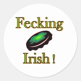 Fecking Irish Stickers