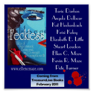 Feckless Tales Anthology Poster