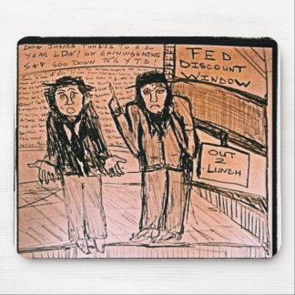 FED Discount Window Mouse Pad