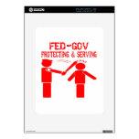FED-Gobierno que protege y que sirve iPad Skin