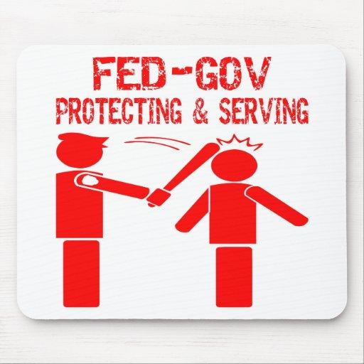 FED-Gobierno que protege y que sirve Tapete De Raton