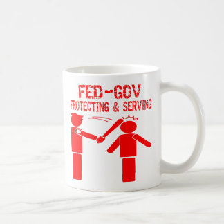 Fed-Gov Protecting & Serving Coffee Mugs