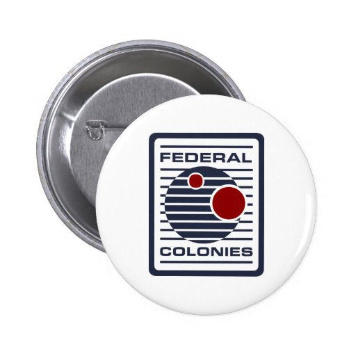 fed-GREENSHIRT ONLY 2 Inch Round Button