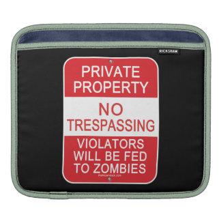 Fed To Zombies iPad Sleeves