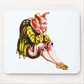 Fed-Up Court Jester Mousepads