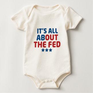 FED WOMEN'S DARK BABY BODYSUIT