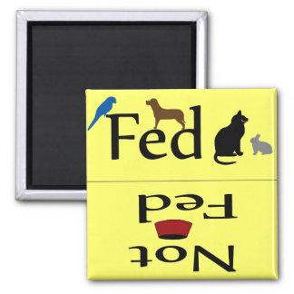 FED y no imán de los animales de FED
