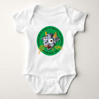 Fedderr's Feed & Grain Emporium Baby Bodysuit